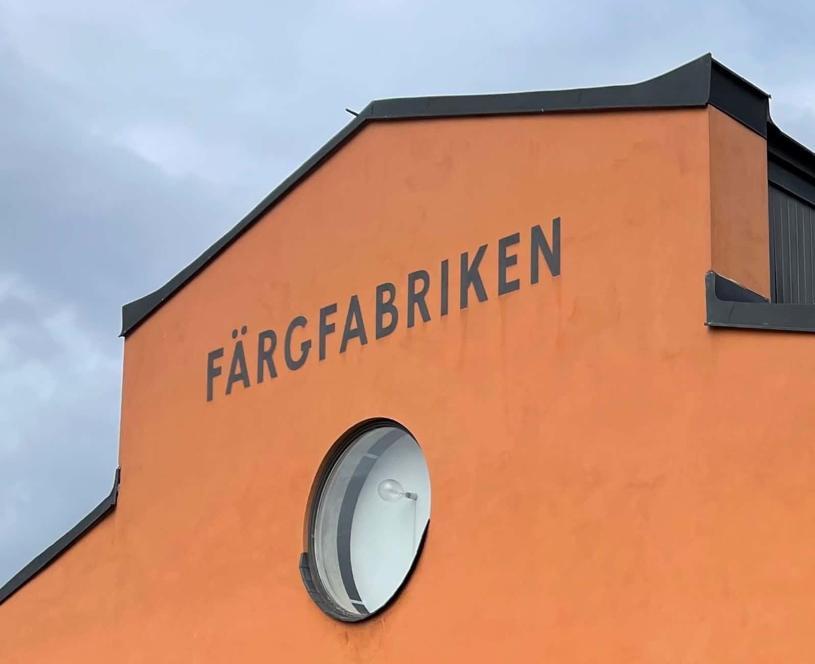 Färgfabriken fasad